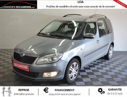 SKODA ROOMSTER Roomster 1.6 TDI 105 ambition d'occasion