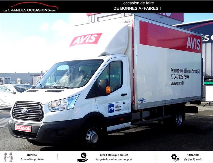 FORD TRANSIT CCB CHASSIS SC AMBIENTE 350 L4J TDCI 125 P d'occasion