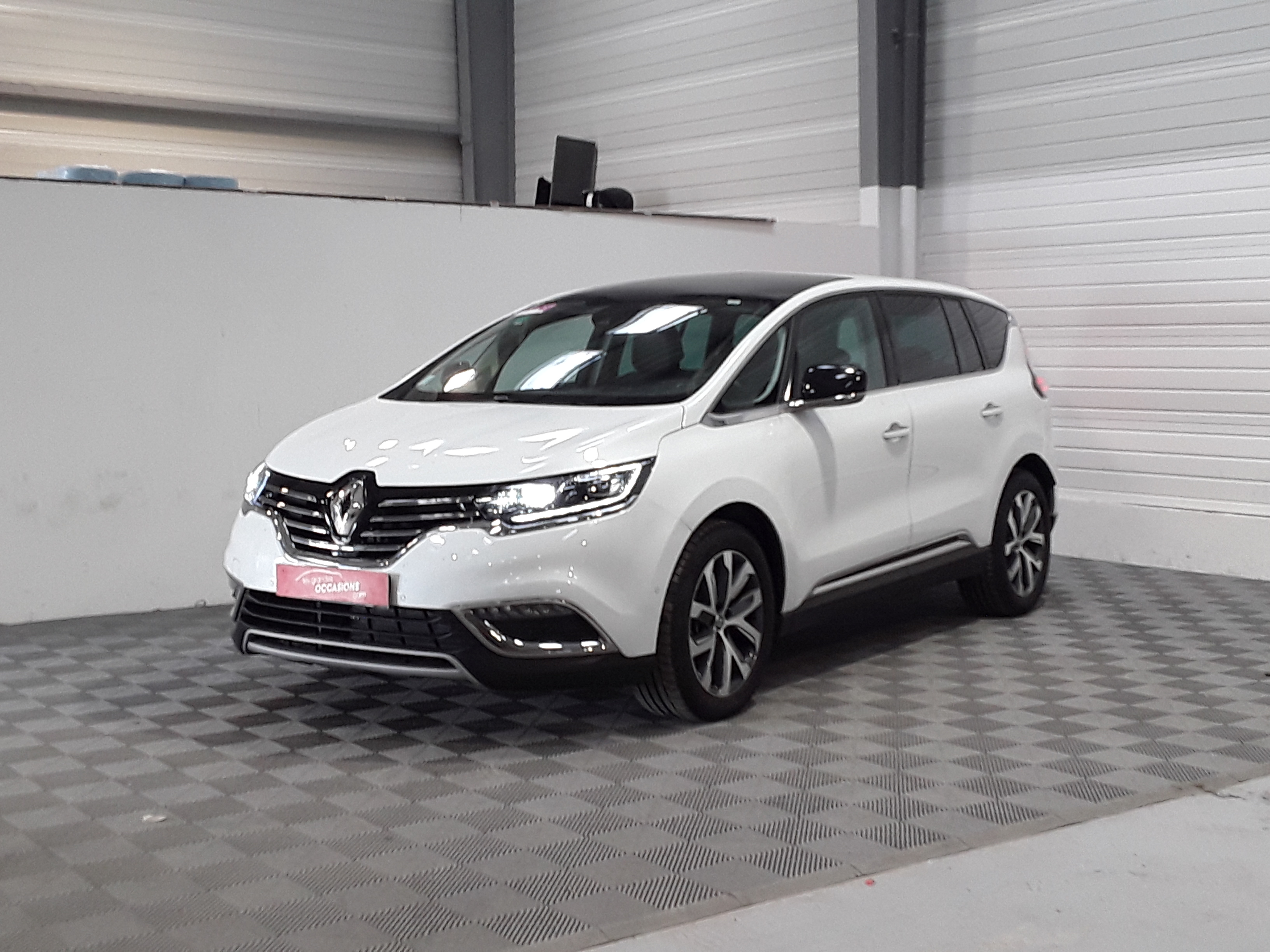 RENAULT ESPACE V dCi 160 Energy Twin Turbo Zen EDC - 7P d'occasion