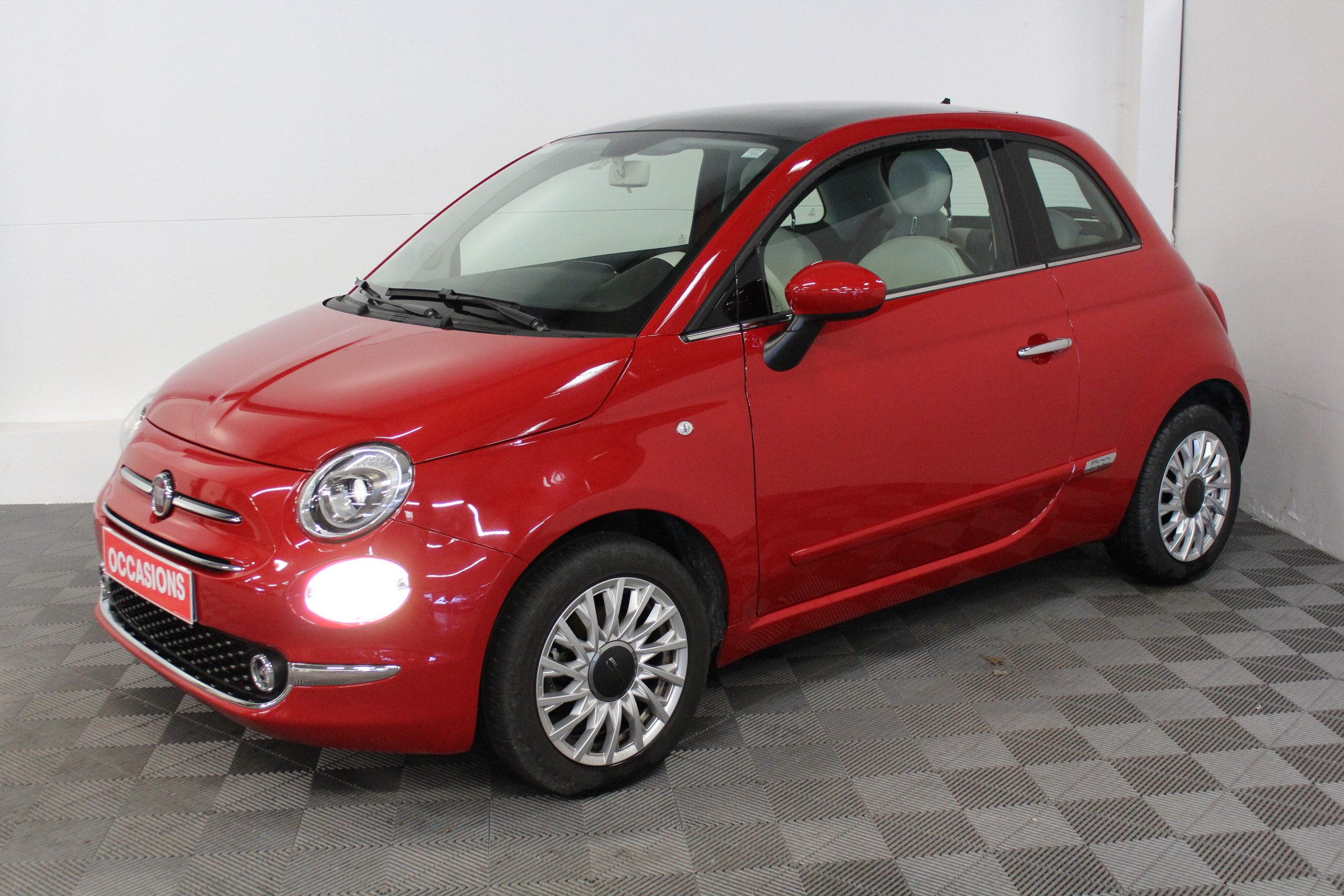 FIAT 500 MY17 1.2 69 ch Lounge d'occasion