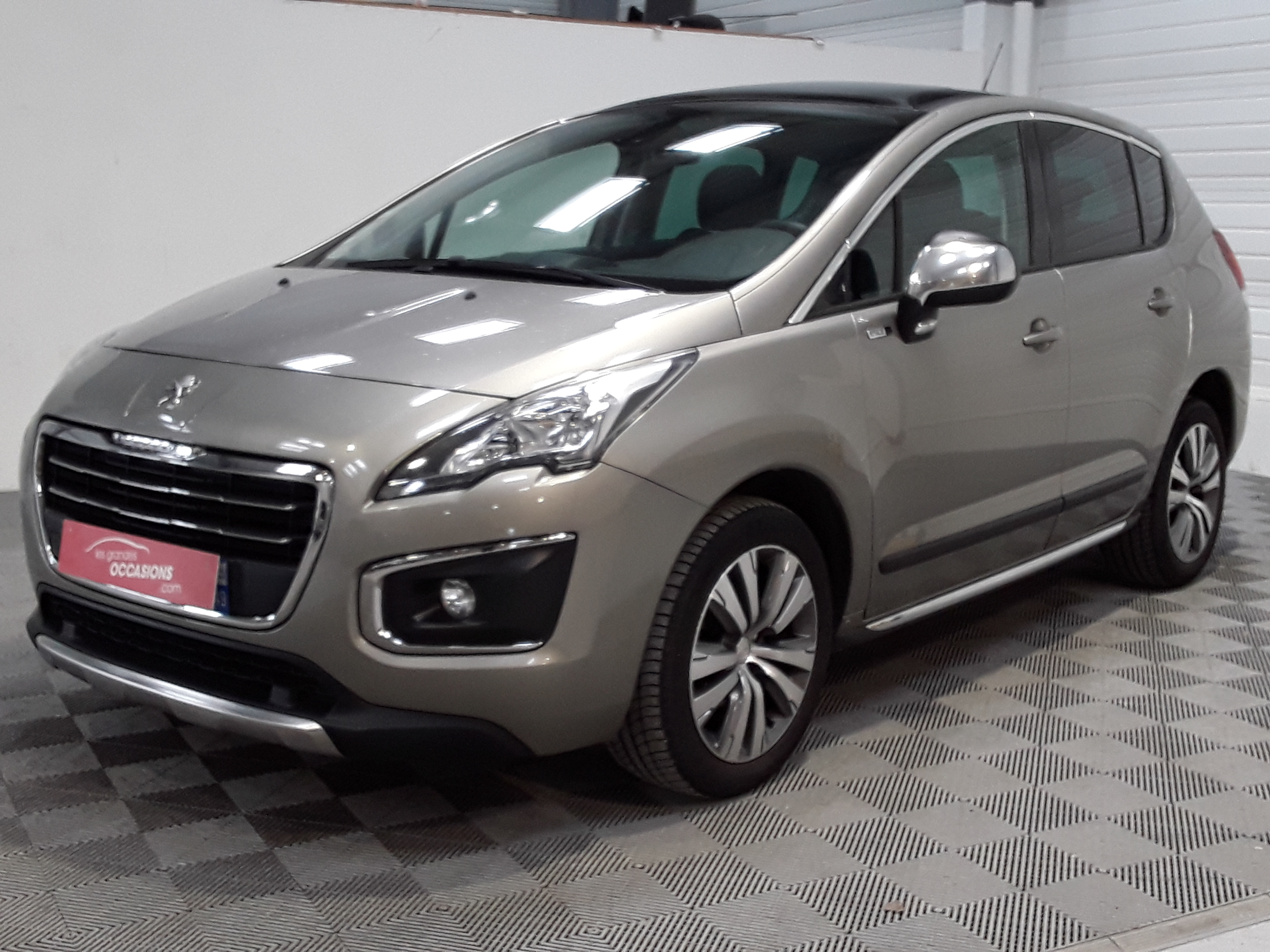 PEUGEOT 3008 1.6 HDi 115ch FAP BVM6 Style d'occasion
