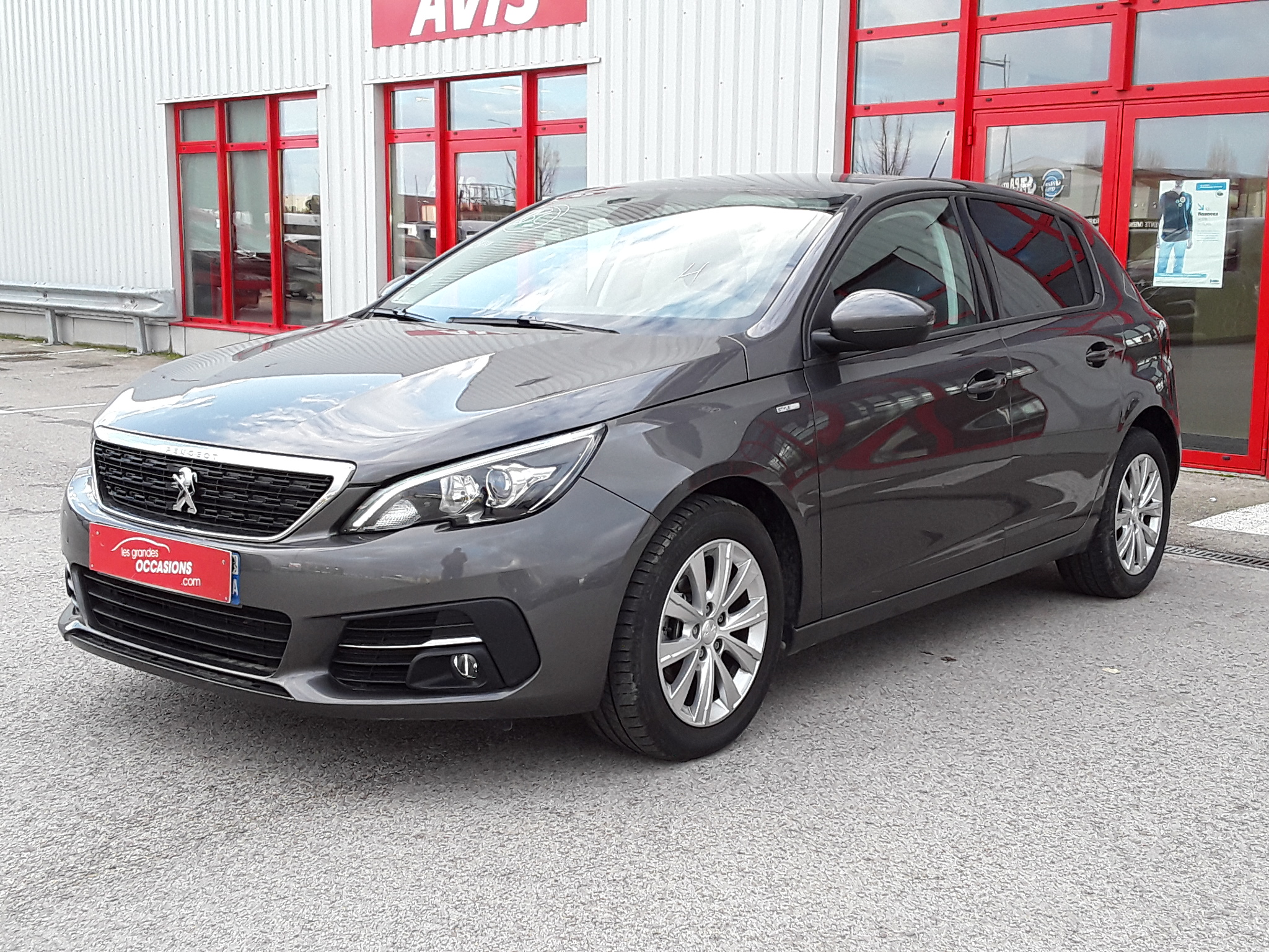 PEUGEOT 308 1.6 BlueHDi 100ch S&S BVM5 Style d'occasion