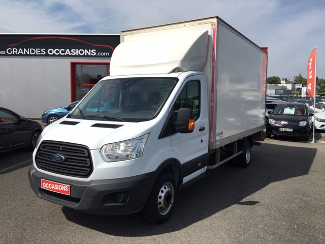 FORD TRANSIT 20M3 HAYON CHASSIS SC AMBIENTE 350 L4J TDCI 125 P d'occasion