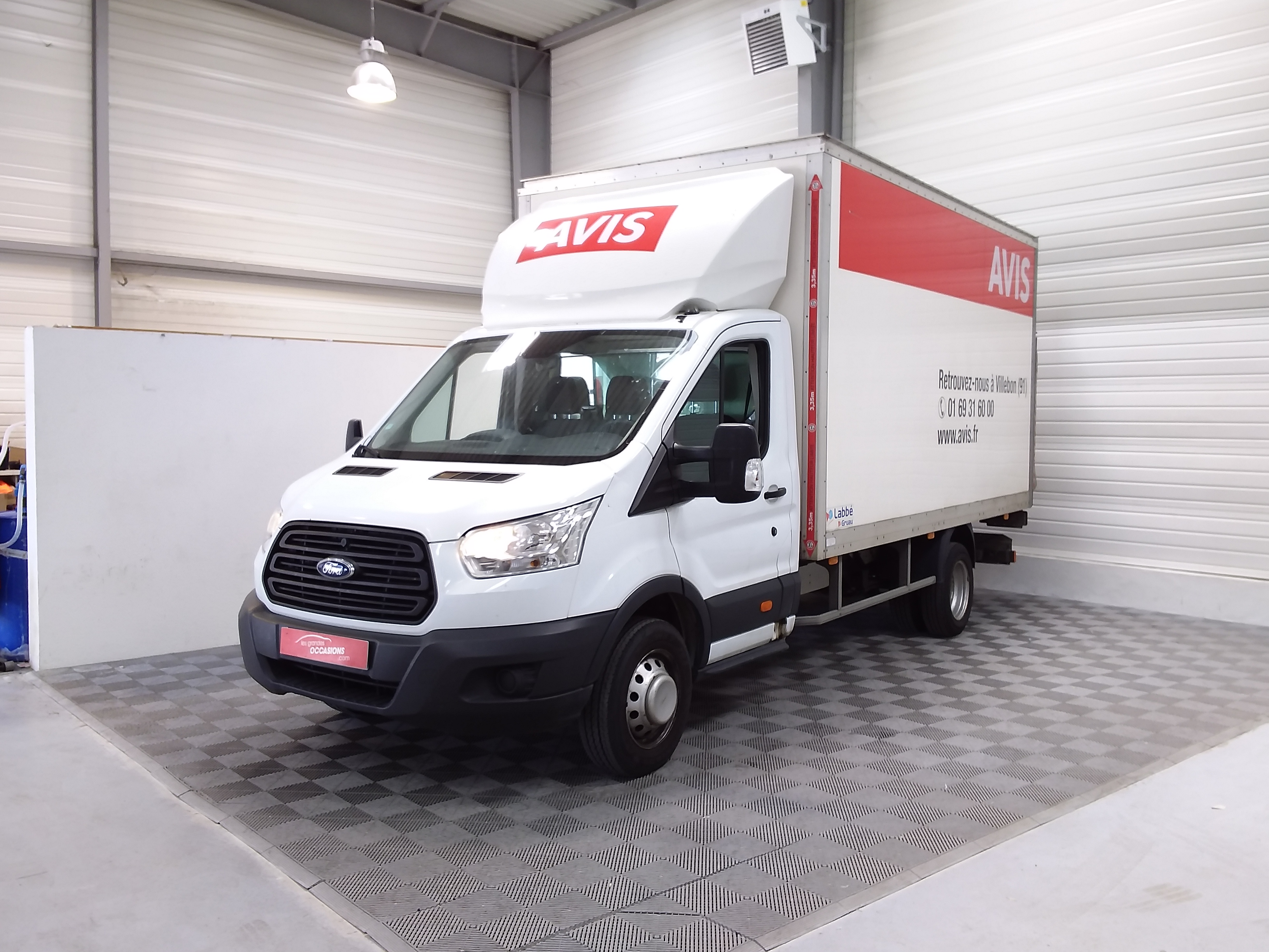 FORD TRANSIT CHASSIS CABINE CHASSIS SC AMBIENTE 350 L4J TDCI 125 P d'occasion