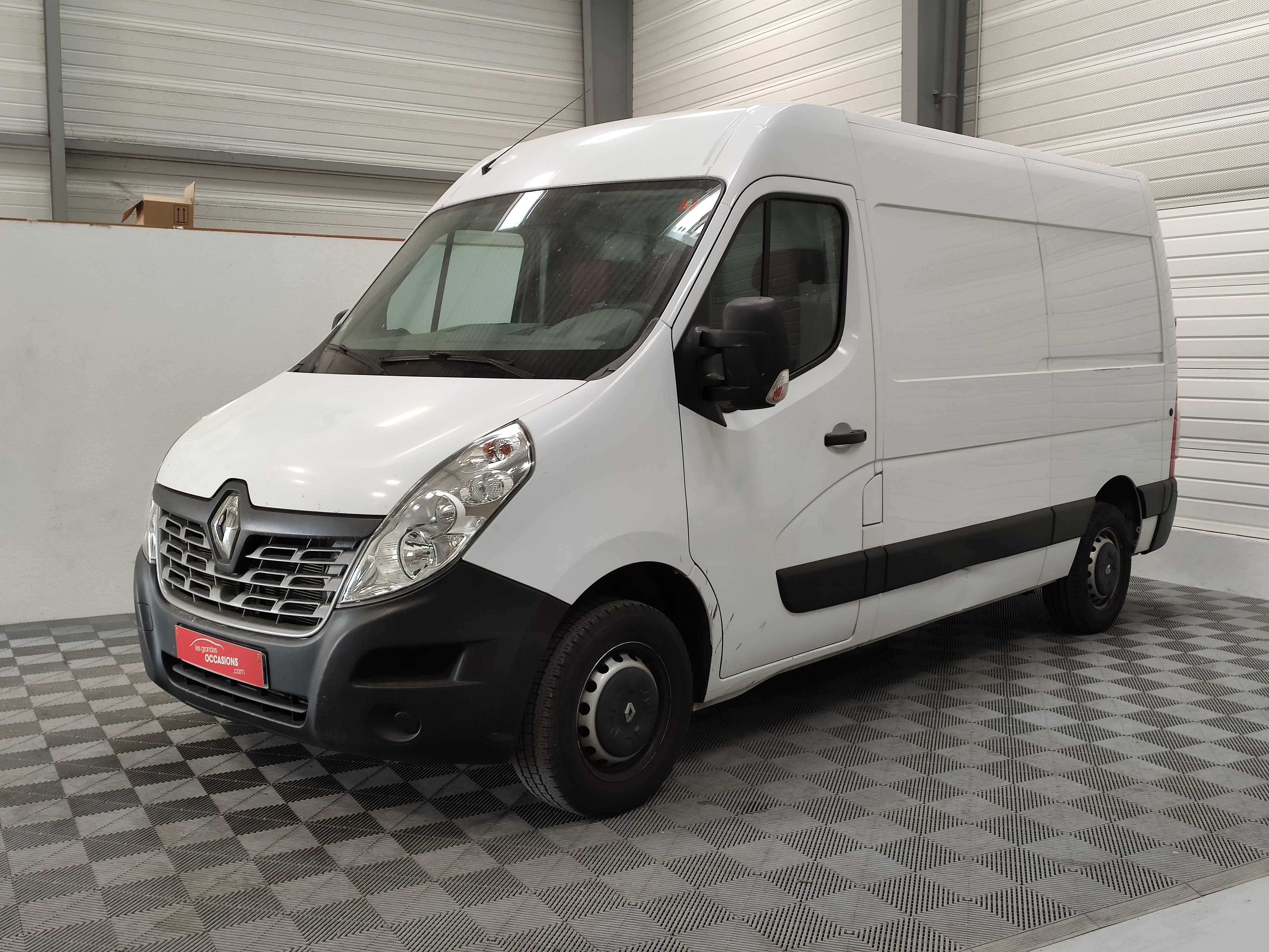 RENAULT MASTER FOURGON L2H2 3.5T 2.3 DCI 125CV GRAND CONFORT d'occasion
