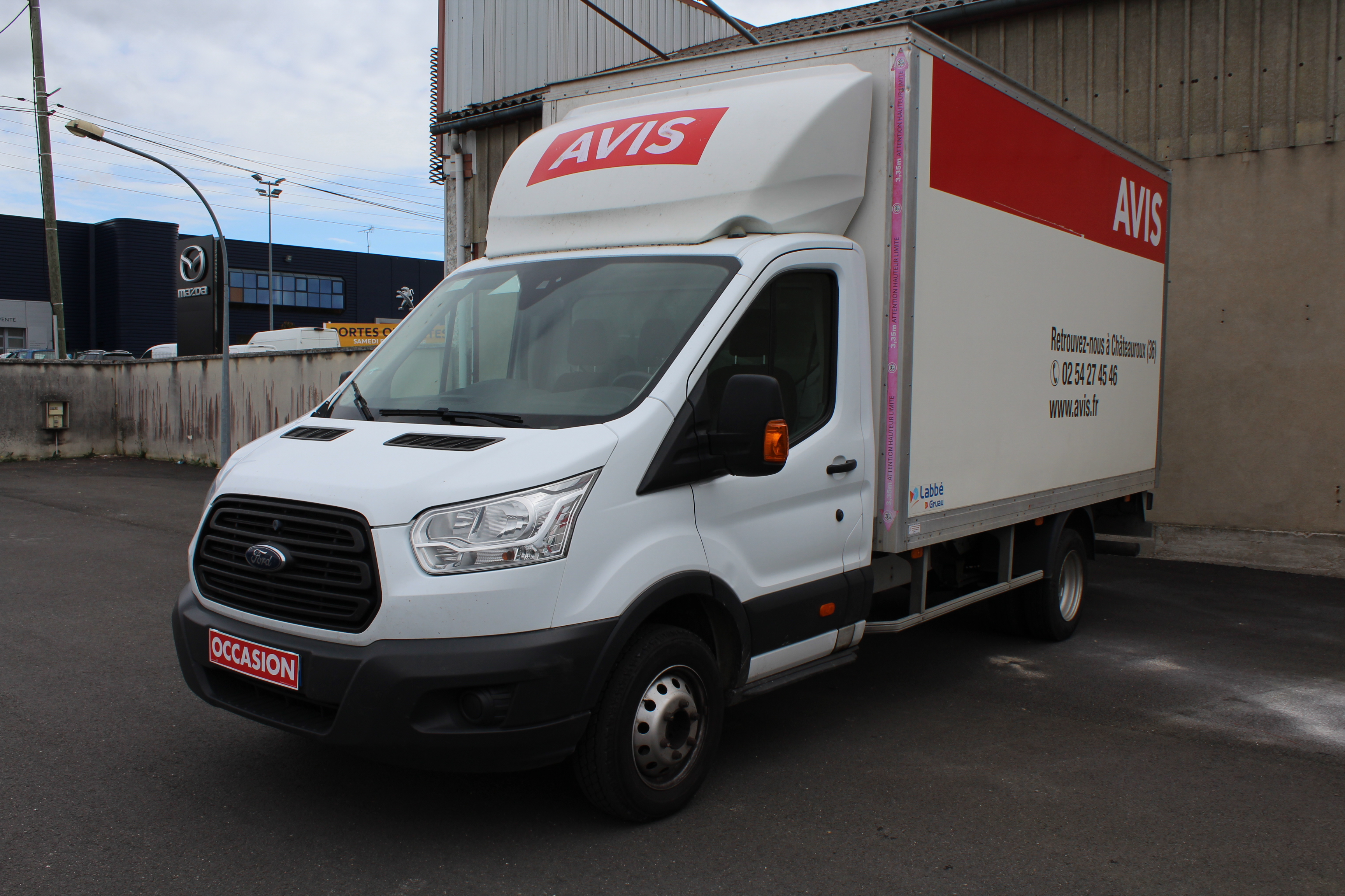 Photo du véhicule FORD TRANSIT FOURGON CHASSIS SC AMBIENTE 350 L4J TDCI 125 P