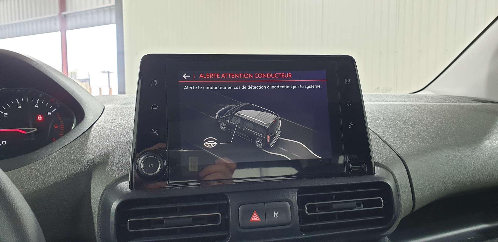 Miniature PEUGEOT RIFTER Standard BlueHDi 100 S&S BVM5 ACTIVE GPS