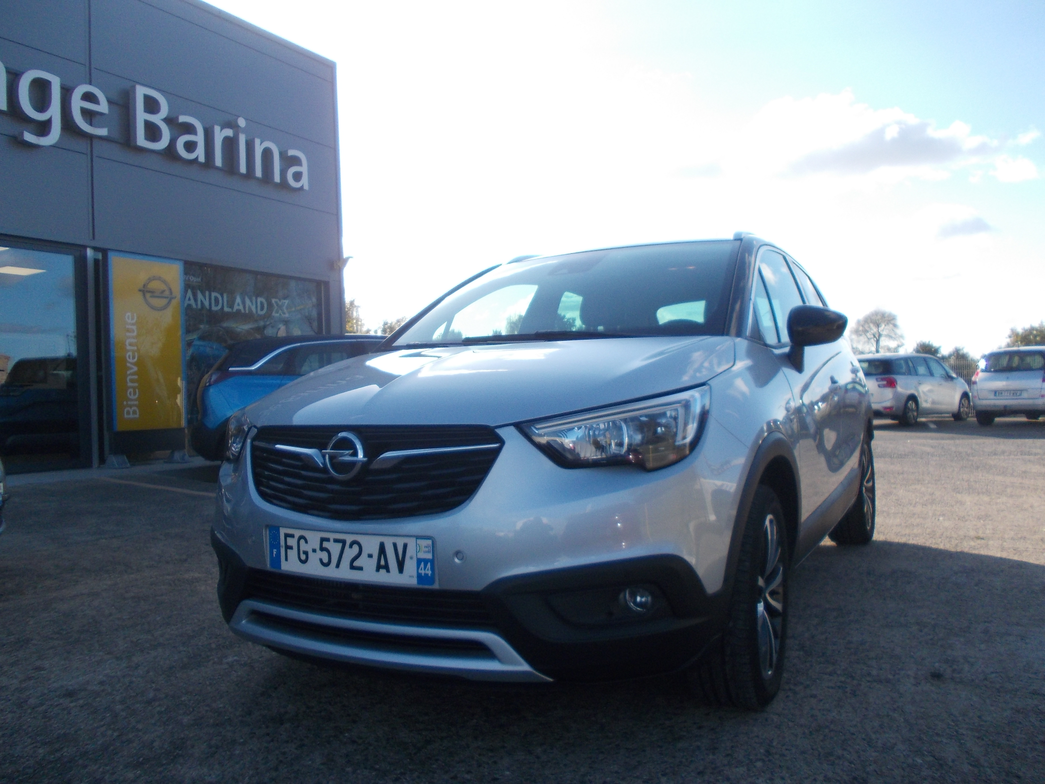 OPEL CROSSLAND X - 1.2 Turbo 110 ch Design 120 ans