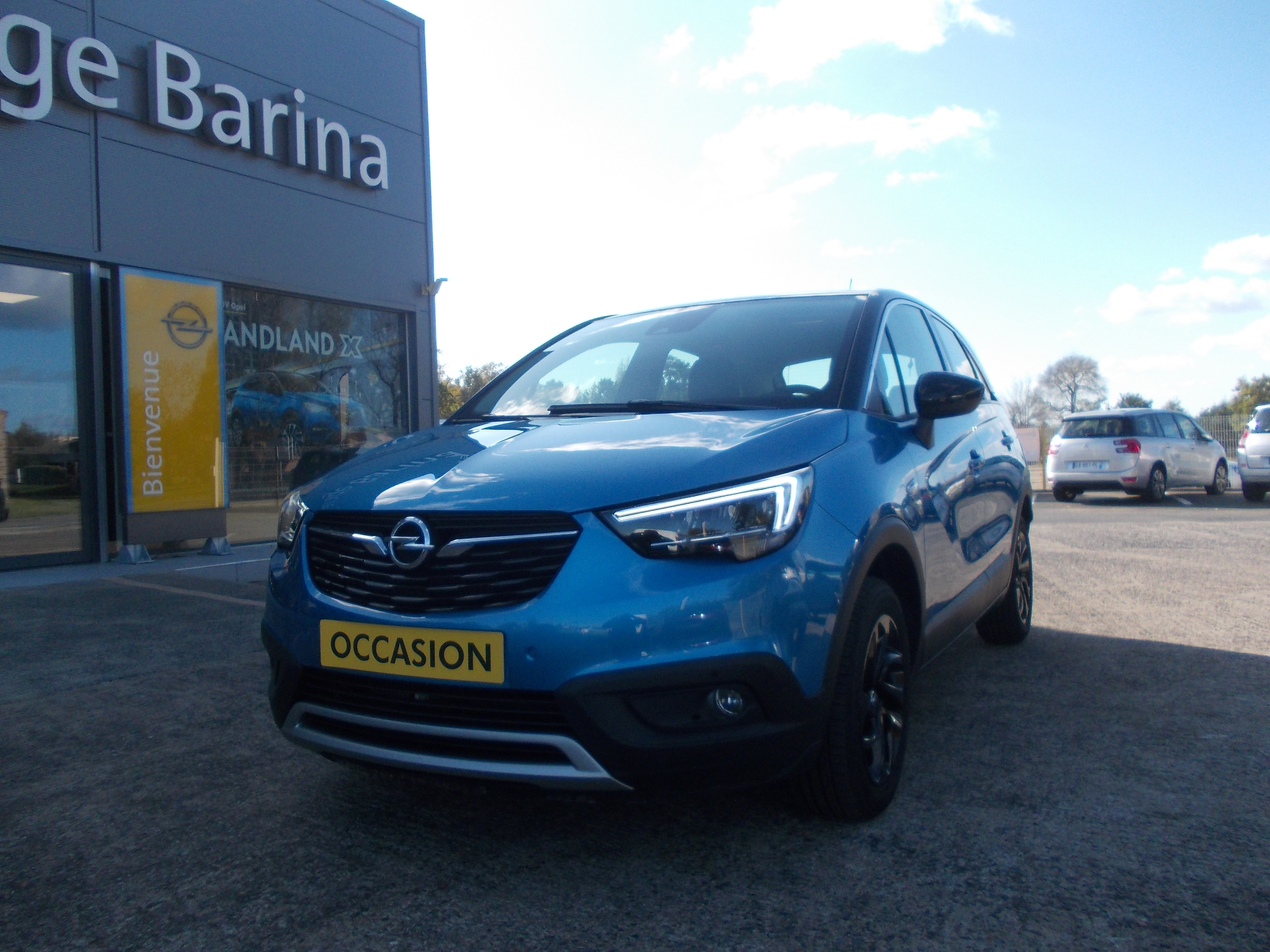 OPEL CROSSLAND X - 1.2 Turbo 130 ch BVA6 Design 120 ans