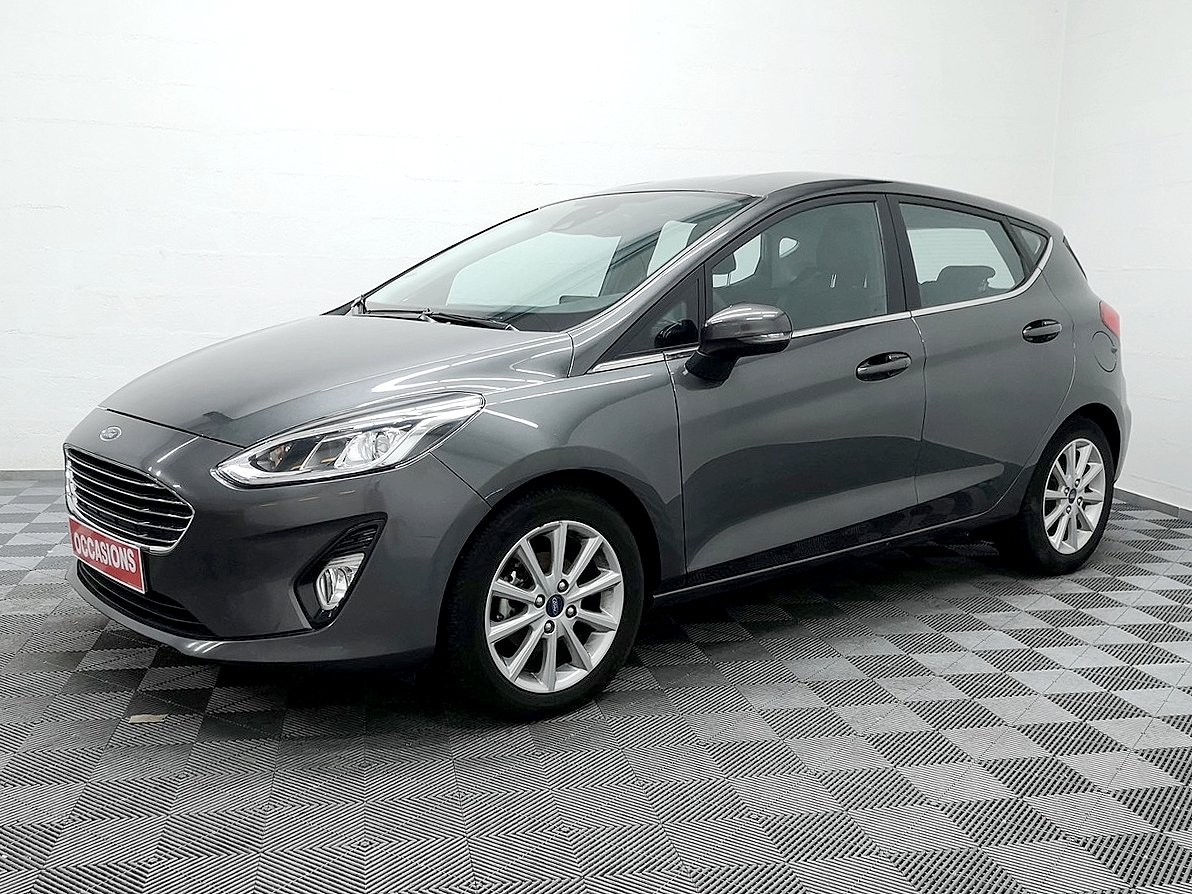 FORD FIESTA 1.0 EcoBoost 100 ch S&S BVM6 Titanium d'occasion