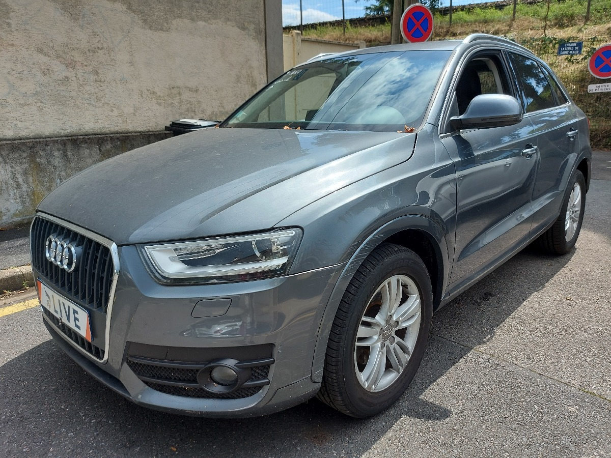 AUDI - Q3- 2.0 TDI 140 ch Ambition Luxe
